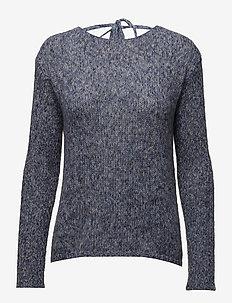 Lois Knit - swetry - royal blue melange