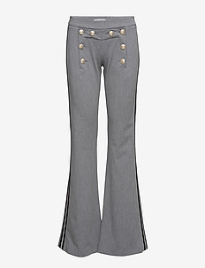 Billie Pant - vida byxor - light grey melange