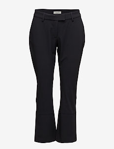 Thelma Slacks - spodnie szerokie - navy