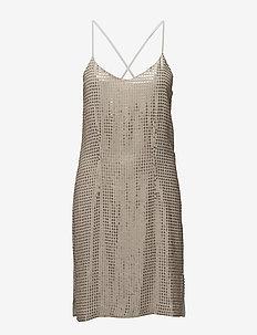 Stevey Cami Dress - krótkie sukienki - desert beige