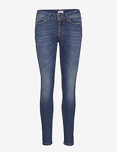 Dree Jeans - skinny jeansy - mid indigo wash