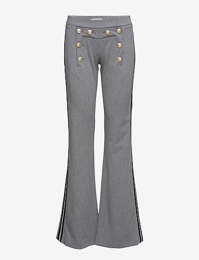 Billie Pant - bukser - light grey melange