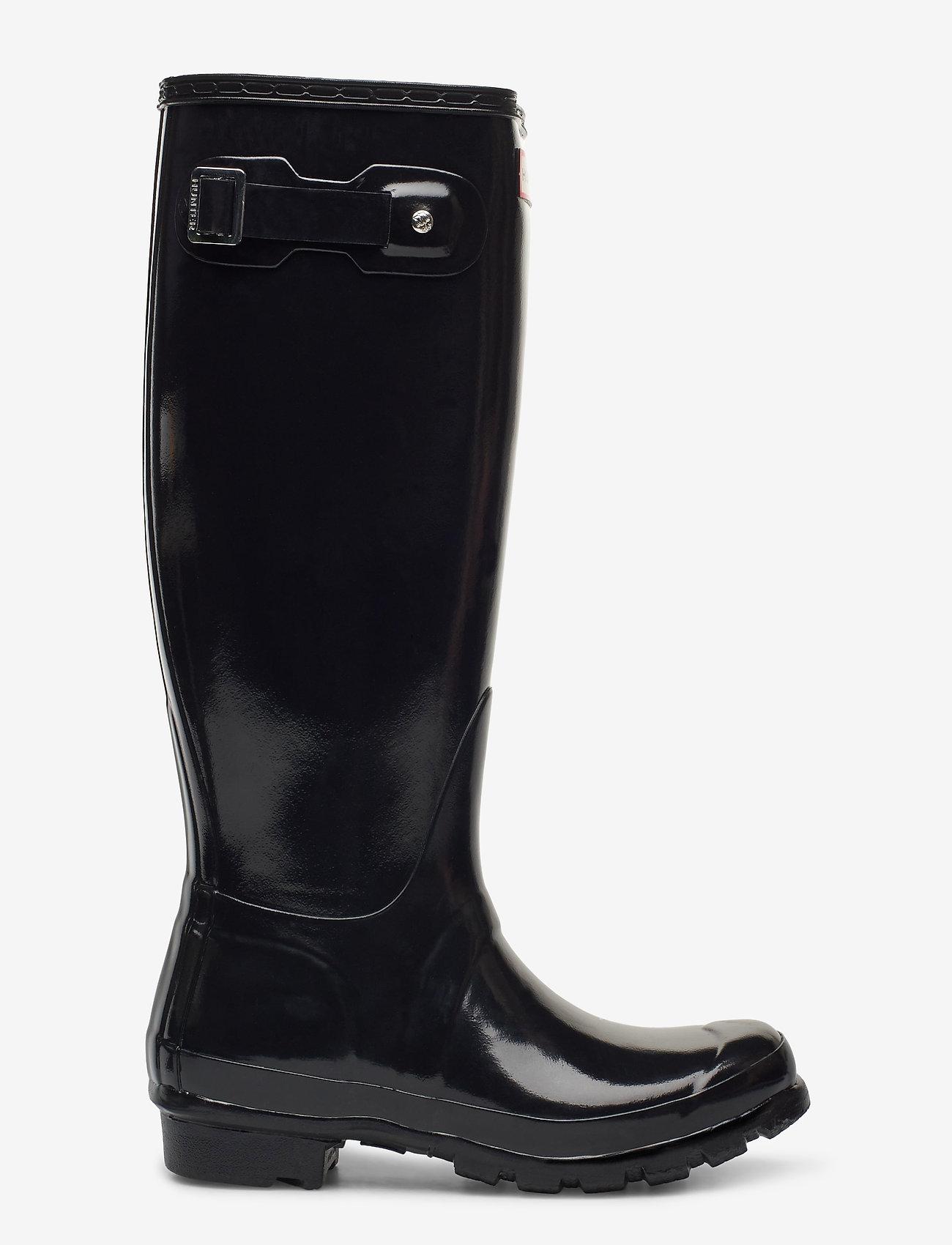 Hunter - Hunter Women's Orig Tall - gummistøvler - black - 1