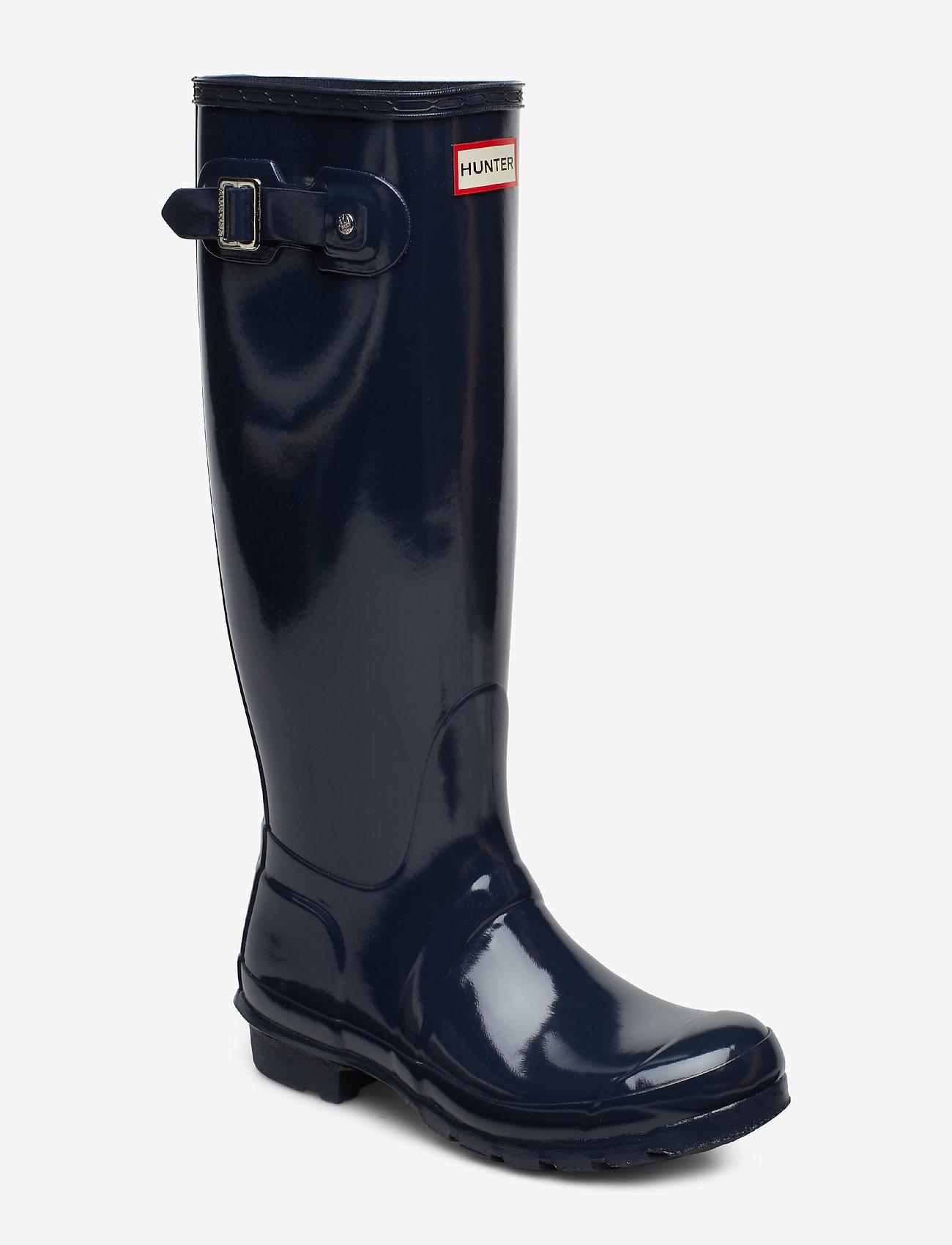 Hunter - Hunter Women's Orig Tall - gummistøvler - navy - 0