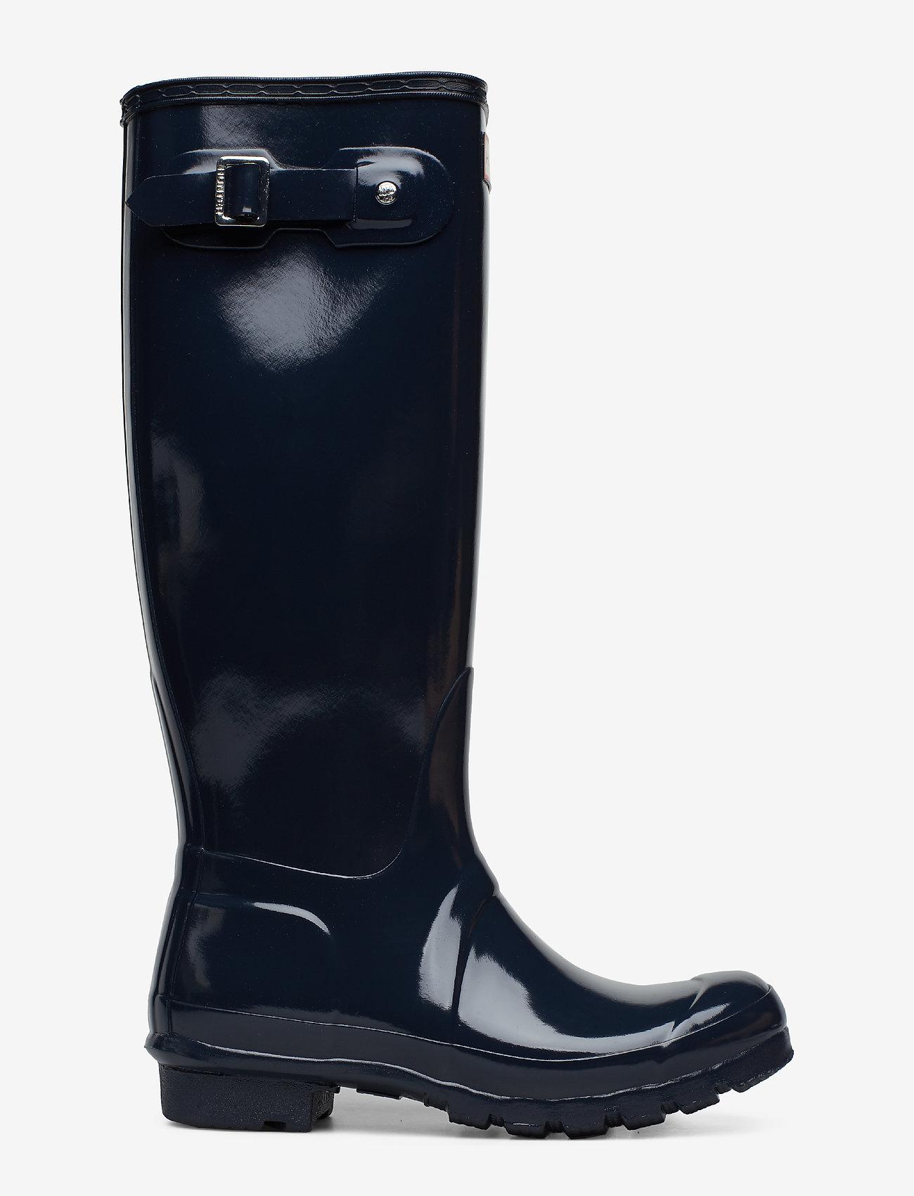 Hunter - Hunter Women's Orig Tall - gummistøvler - navy - 1