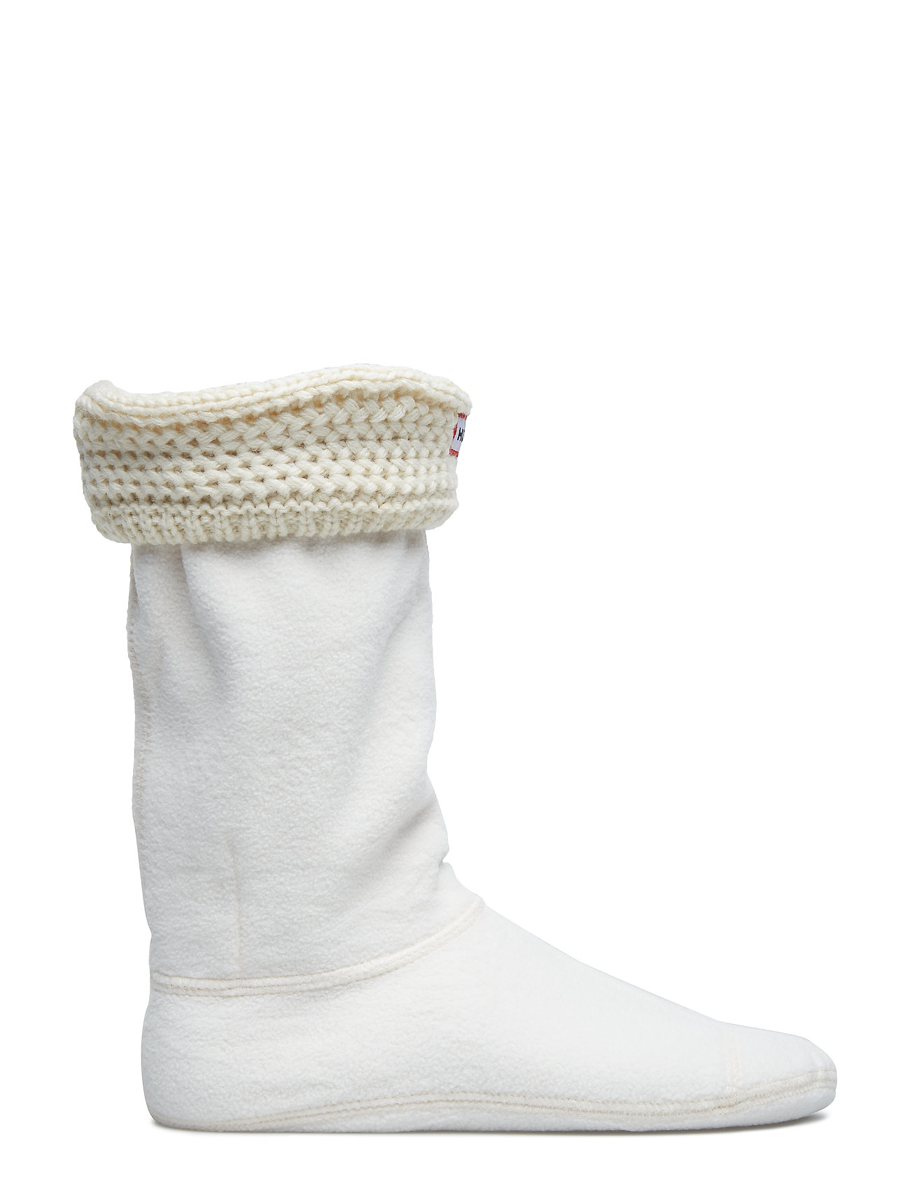 Hunter - Short Moss Cable WellySock - sokker - cream - 1