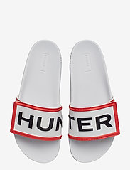 Hunter - Hunter W Orig Adjust LogoSlide - pool sliders - white - 3