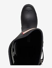 Hunter - Hunter Women's Orig Tall - gummistøvler - black - 3
