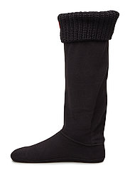 Hunter Half Cardigan Boot Sock - BLACK