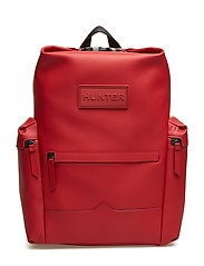 Hunt Orig BackPack RubbLeather - MILITARY RED