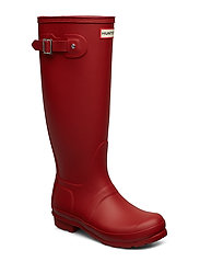 Hunter Women's Orig Tall - MILITARY RED