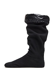 Welly Sock with Pocket - BLACK