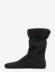 Hunter Kid Half Cardig BooSock - sokker - black