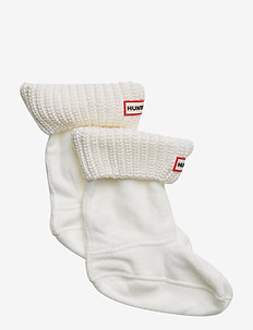 Hunter Kid Half Cardig BooSock - sokker - white