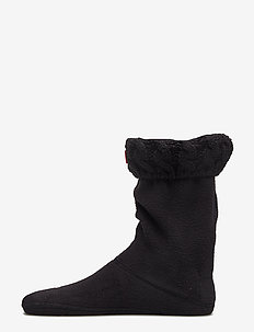 Hunter Kids 6Stitch Cable Sock - sokker - black