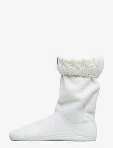Hunter 6 StitchCabl Short Sock - sockor - natural white
