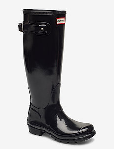 Hunter Women's Orig Tall - gummistøvler - black