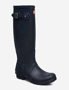 Hunter Women's Orig Tall - gummistøvler - navy