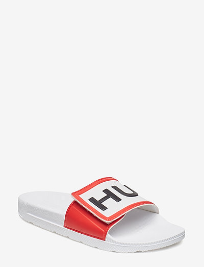 Hunter W Orig Adjust LogoSlide - sale - white