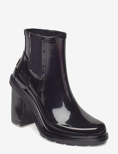 Hunter Ori Ref HighHeel - ankelstøvler med hæl - black