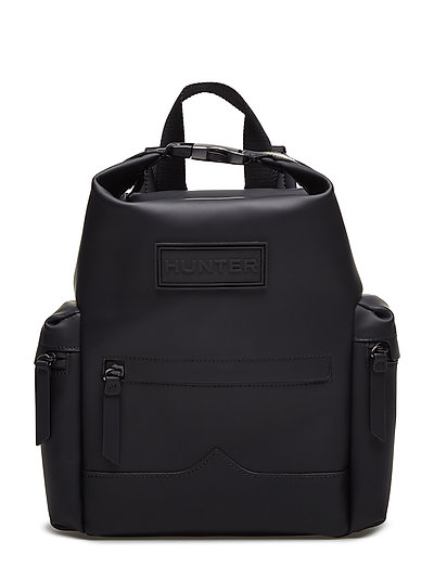 HuntOrig MiniBPack RubbLeather - BLACK