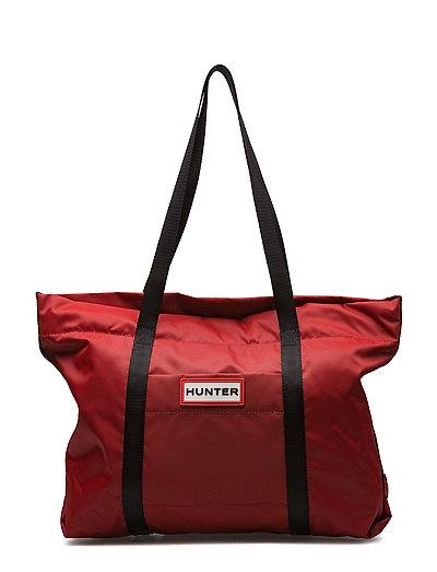 Hunter Original Nylon Tote - MILITARY RED