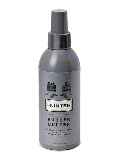 Hunter Rubber Buffer - BLACK