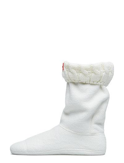 Hunter 6 StitchCabl Short Sock - NATURAL WHITE