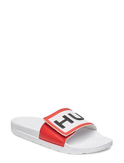 Hunter W Orig Adjust LogoSlide - WHITE