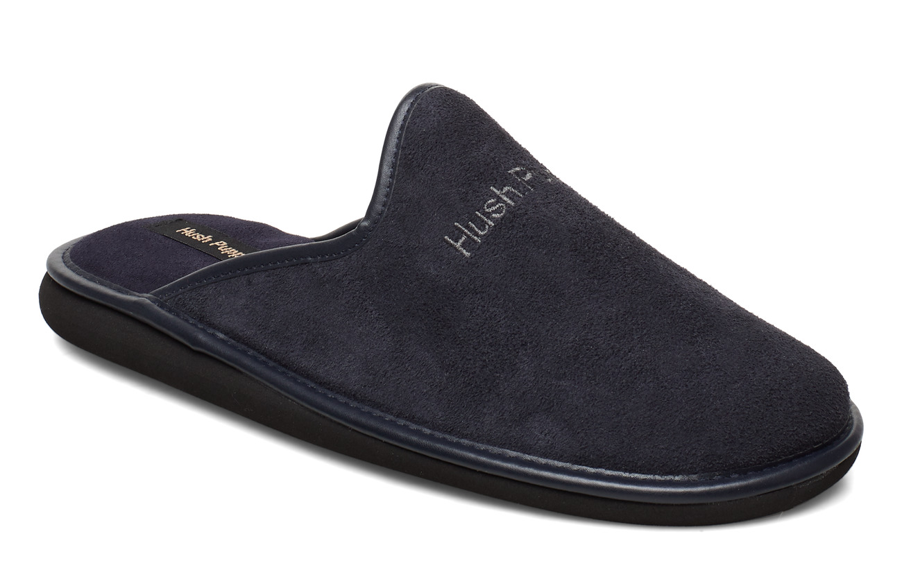 Hush Puppies suede leather - NAVY