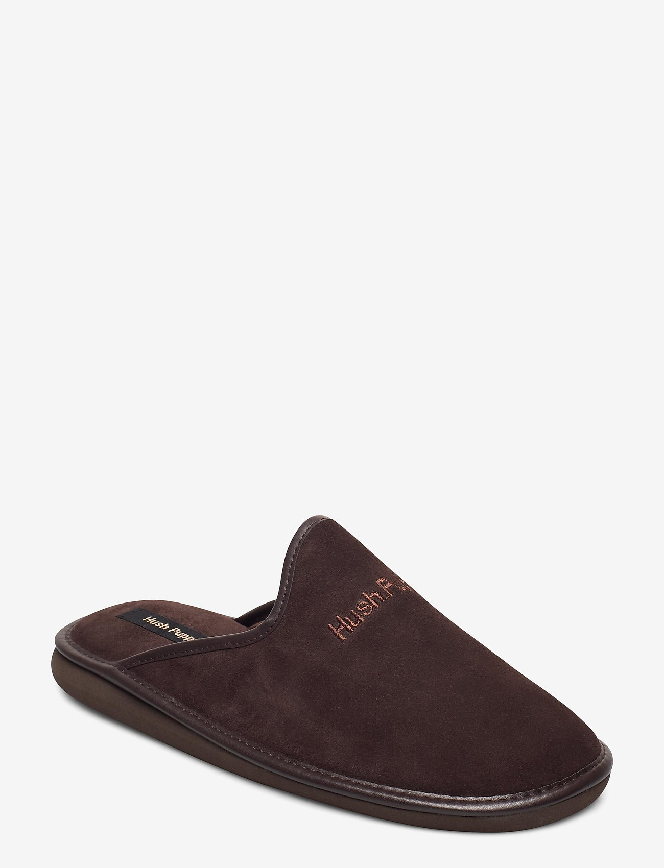 Hush Puppies - SUEDE LTHR UPPER - tossut - brown - 0