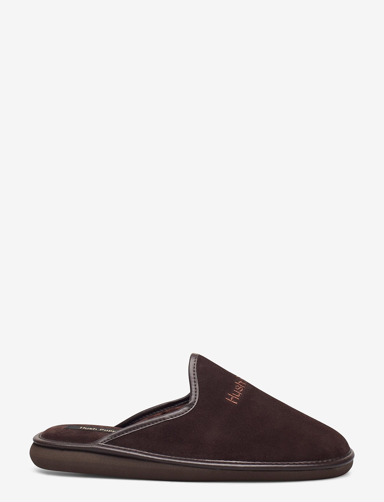 Hush Puppies - SUEDE LTHR UPPER - tossut - brown - 1
