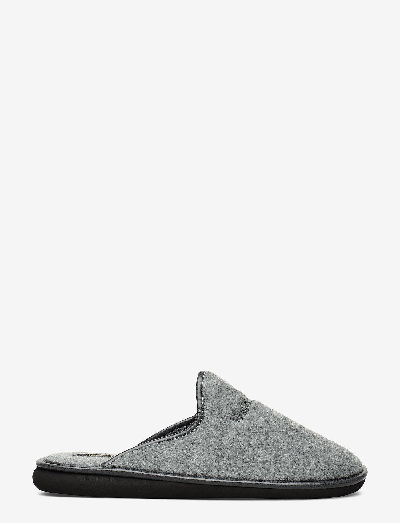 Hush Puppies - FELT SLIPPER - tossut - grey - 1