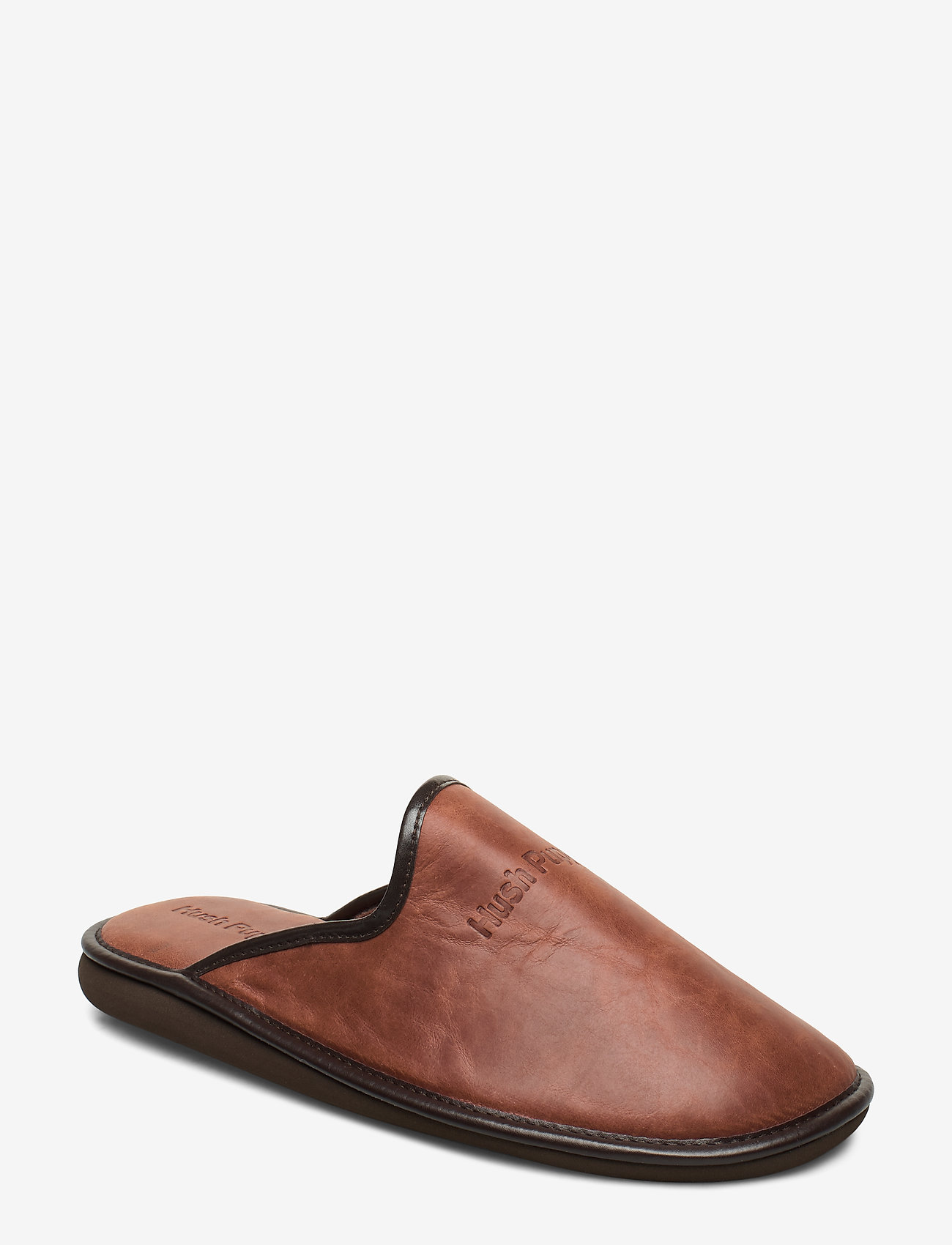 Hush Puppies - LEATHER SLIPPER - tossut - cognac - 0
