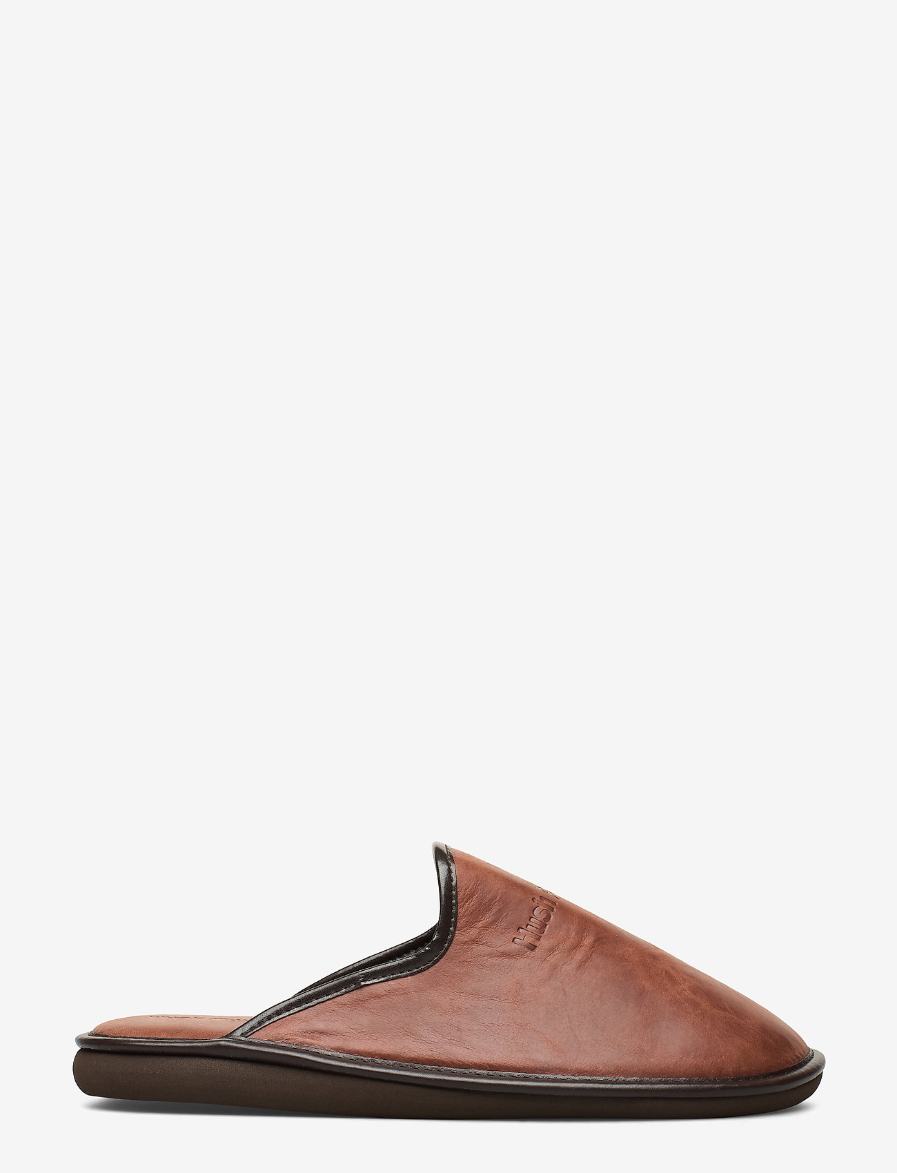 Hush Puppies - LEATHER SLIPPER - tossut - cognac - 1