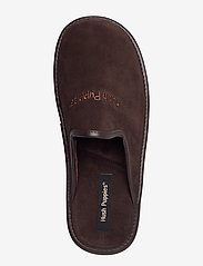 Hush Puppies - SUEDE LTHR UPPER - tossut - brown - 3