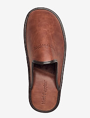 Hush Puppies - LEATHER SLIPPER - tossut - cognac - 3