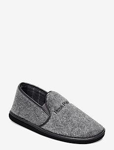 FELT SLIPPER - hausschuhe - grey