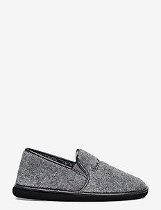 FELT SLIPPER - tossut - grey