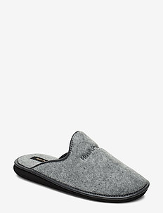 FELT SLIPPER - GREY
