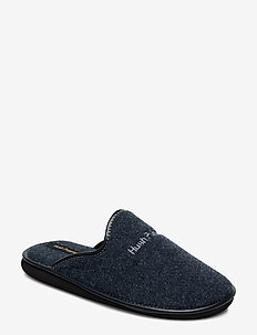FELT SLIPPER - NAVY