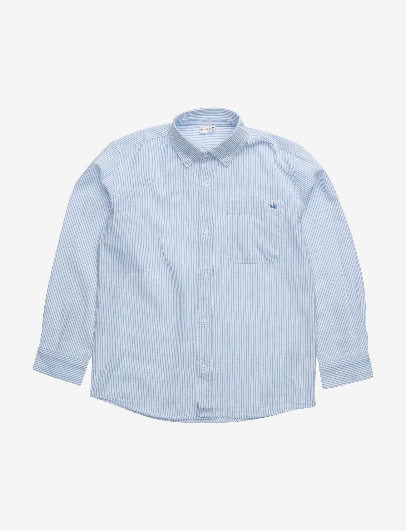 Hust & Claire - Ruben - Shirt - overhemden - light blue - 0