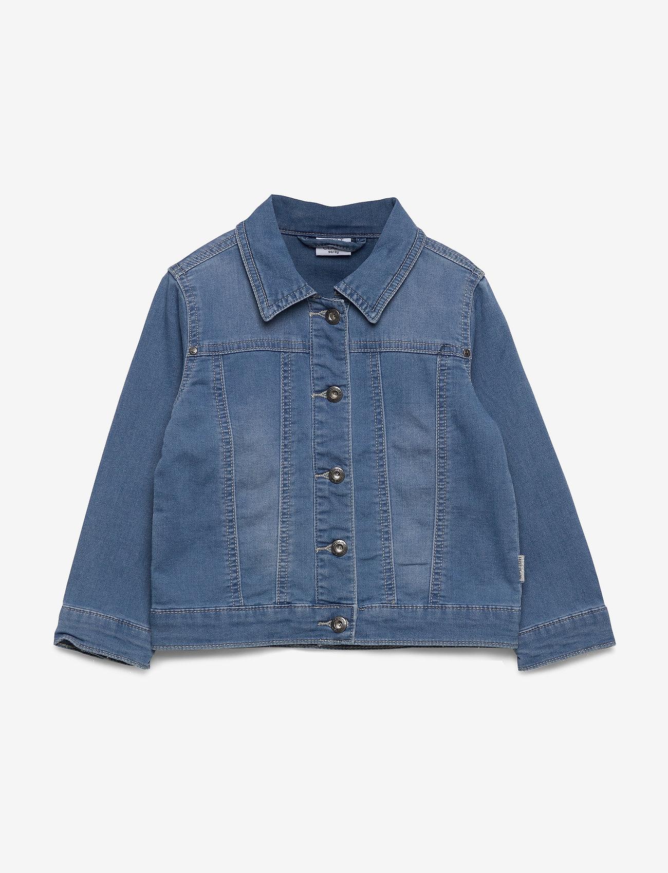 Hust & Claire - Elsa - Indoor Jacket - denimjakker - washed denim - 0