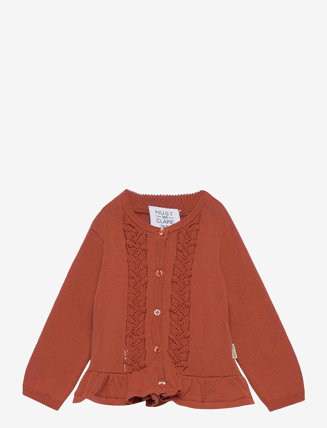Hust & Claire - Candie - Cardigan - gilets - rusty - 0