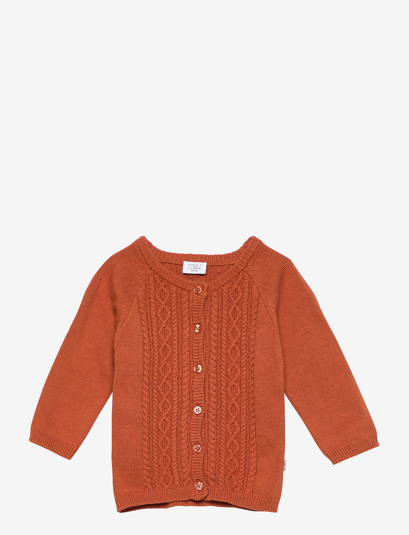 Hust & Claire - Cammie - Cardigan - gilets - rusty - 0