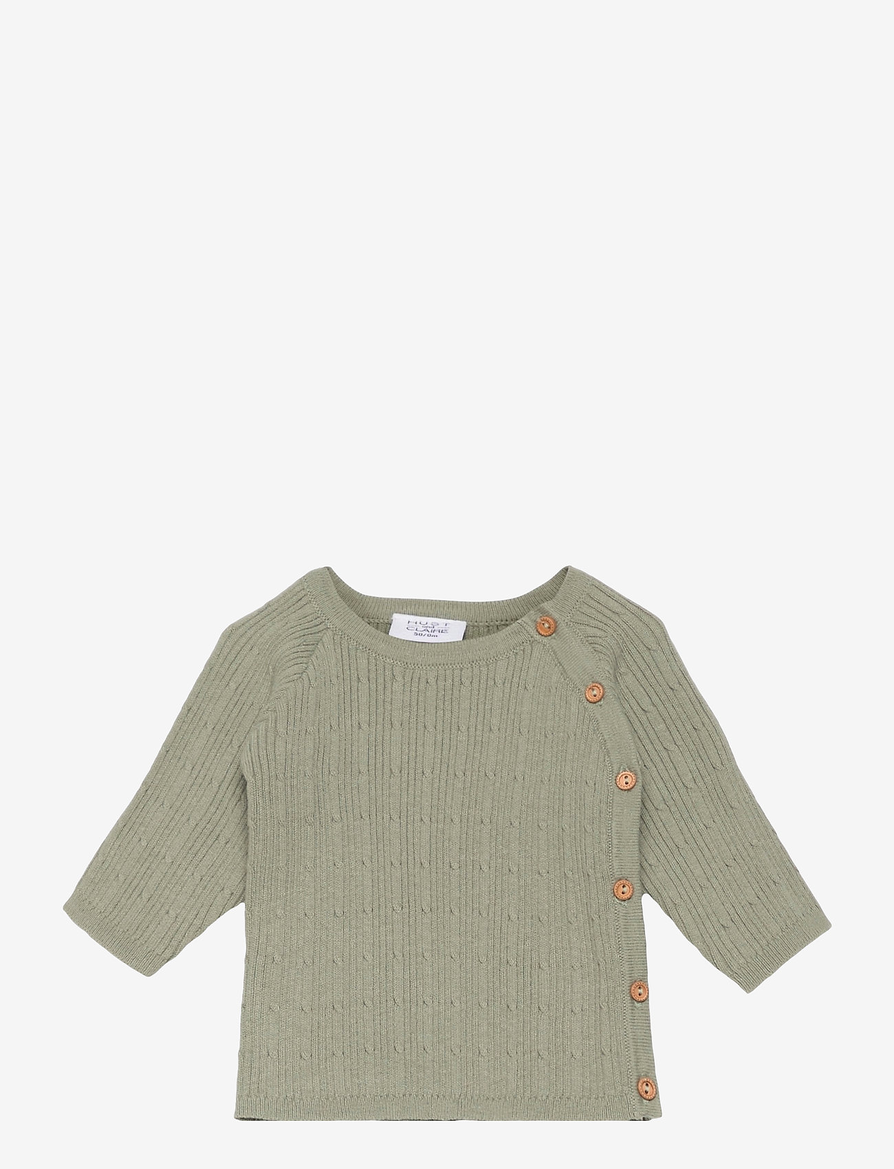 Hust & Claire - Cissy - Cardigan - gilets - seagrass - 0