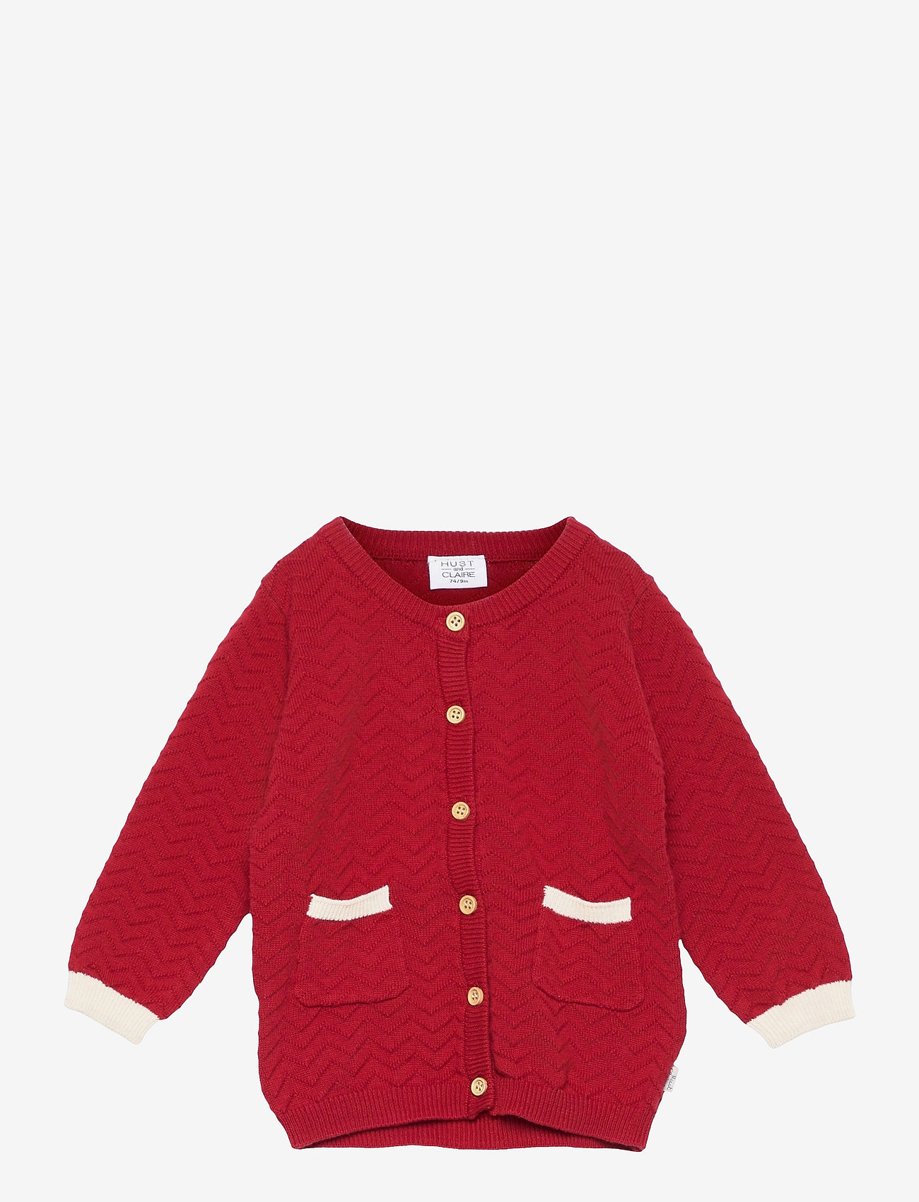 Hust & Claire - Cammi - Cardigan - gilets - rio red - 0