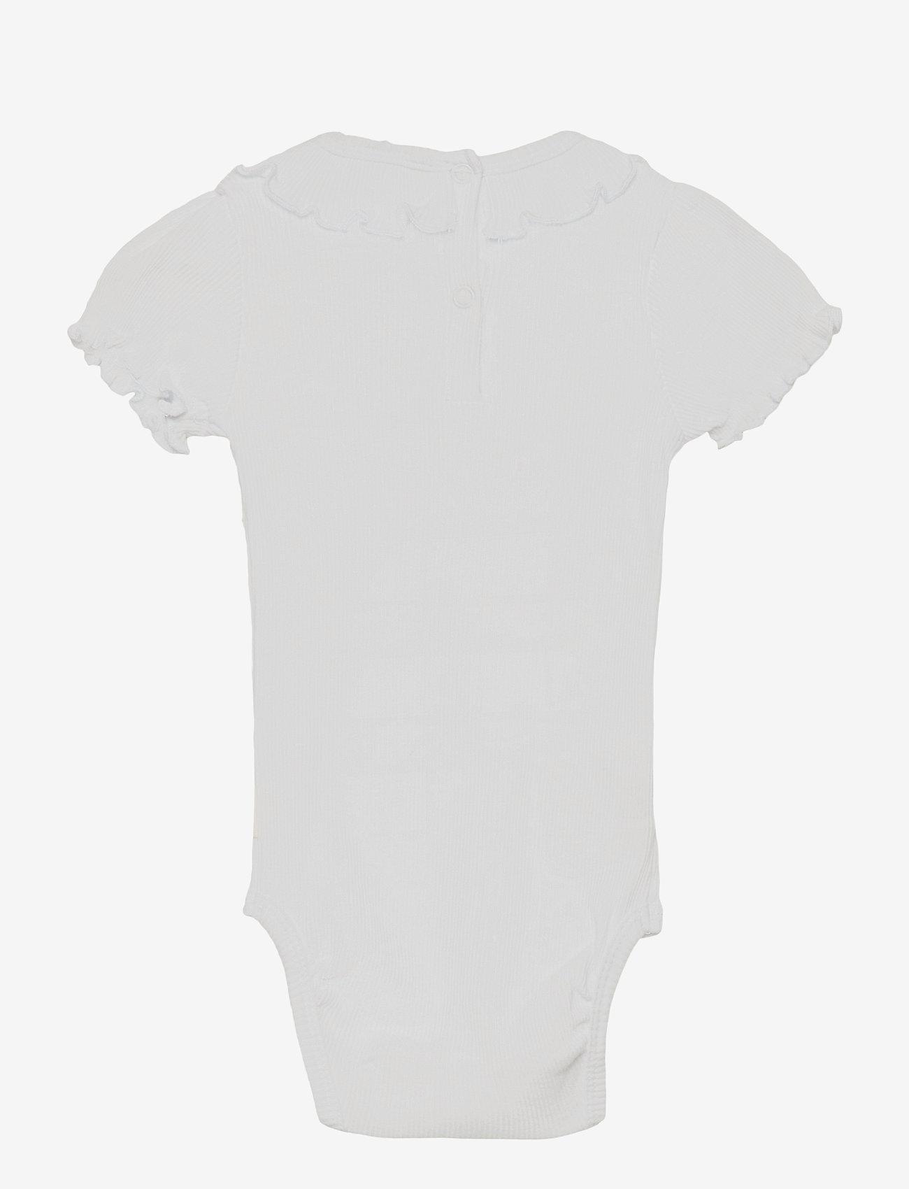 Hust & Claire - Bibbi - Bodystocking - kurzärmelige - white - 1