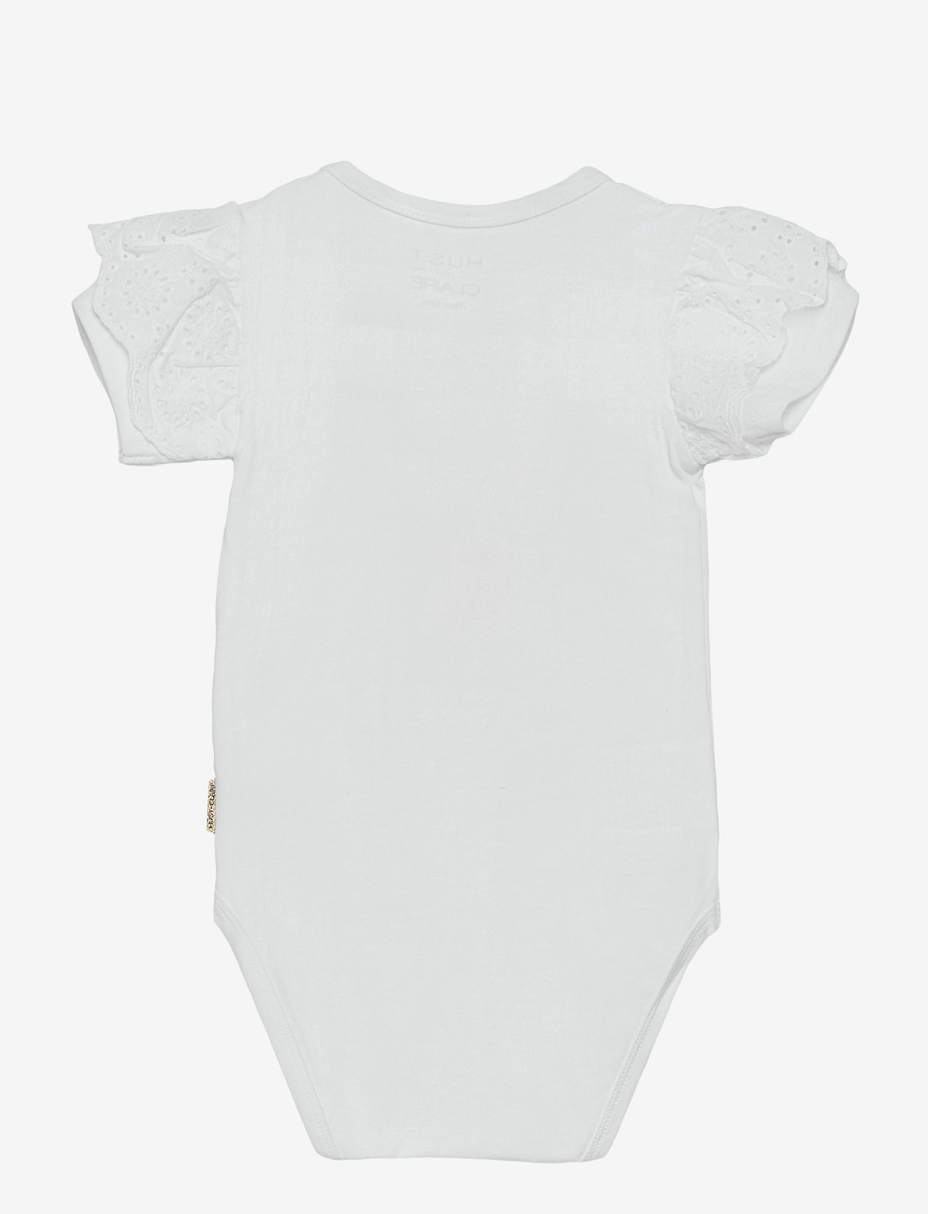 Hust & Claire - Beline - Bodystocking - kurzärmelige - white - 1
