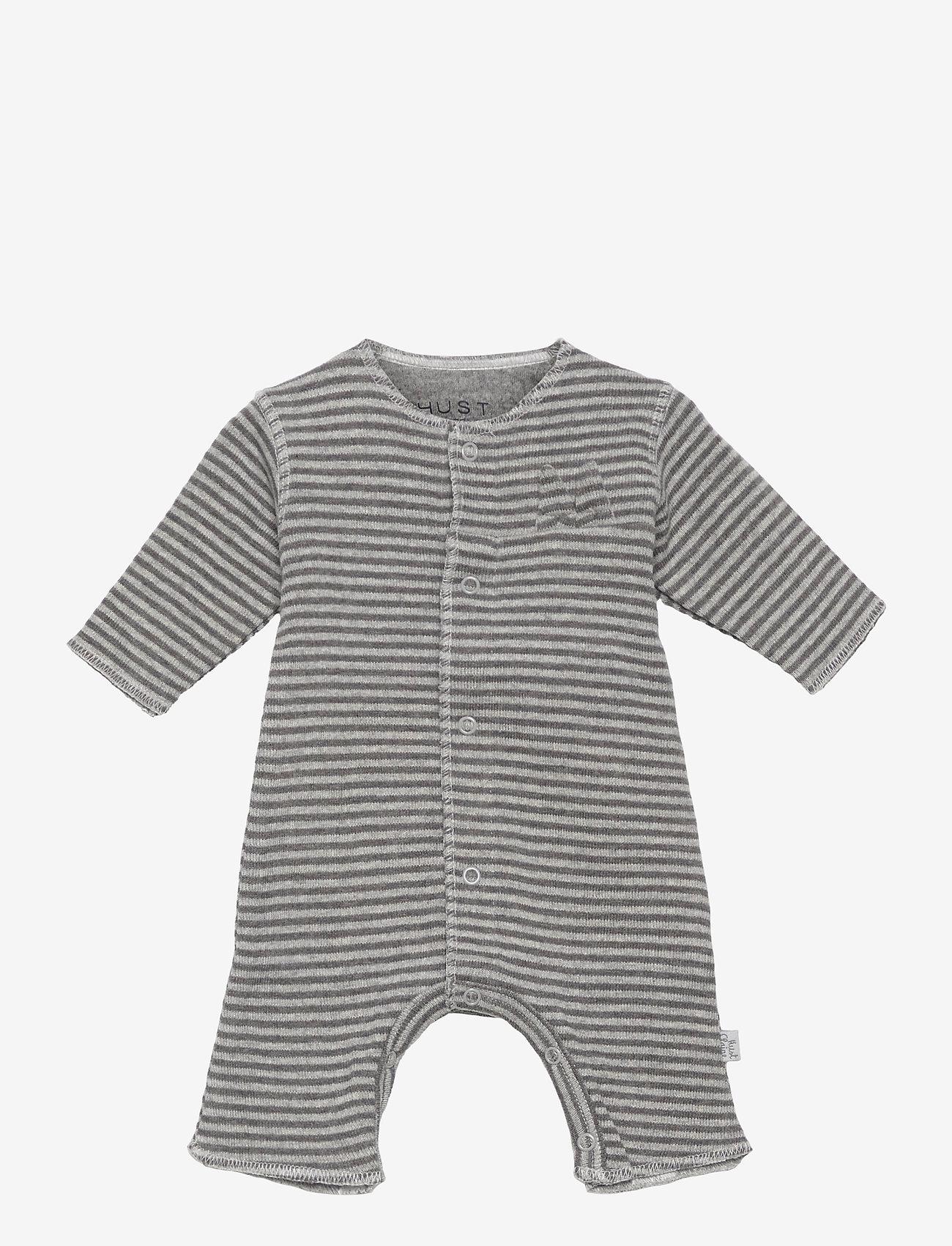Hust & Claire - Matti - Jumpsuit - kurzärmelig - grey blend - 0